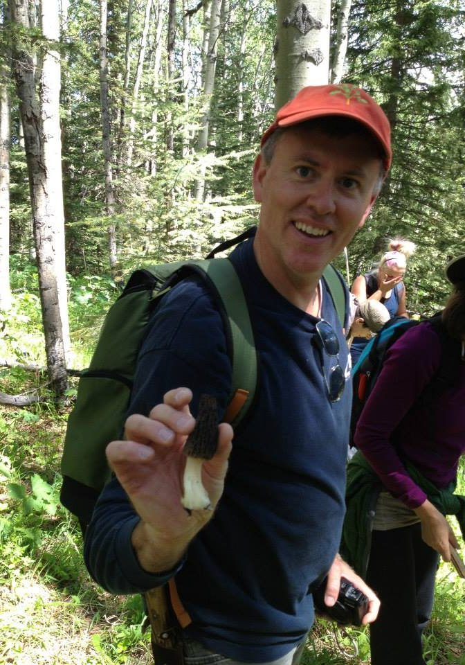 Chef Hewson on SAIT wild food forage outing